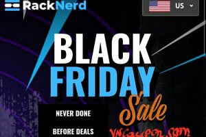 [Black Friday 2020] RackNerd Amazing Deals – KVM VPS from $8.89/Year – Shared Hosting from $8.50/Year