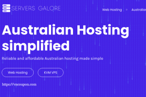Servers Galore – 50% off Lifetime Web Hosting & KVM VPS in Melbourne, Sydney
