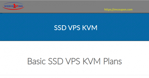 Webhosting1st – 50% OFF SSD KVM VPS from $3/month in Poland – DDos protection