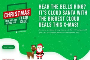 [Xmas 2020] CloudCone Hourly Billed KVM Offers – Semi-Managed Cloud Servers from $1.99/Month