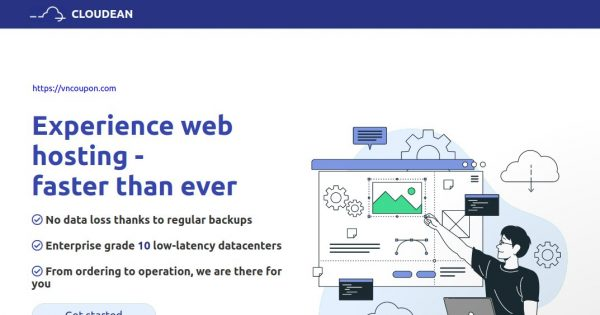 Cloudean – Cheap Shared Hosting & WordPress Hosting! From €0.998/month