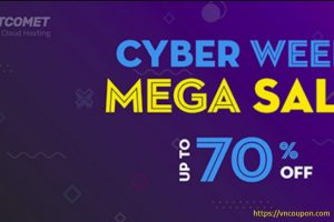 FastComet Cyber Week Mega Sale – Up to 70% Off