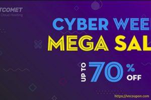 FastComet Cyber Week Mega Sale – Up to 70% Off