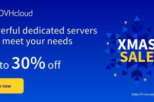 OVHcloud Xmas 2020 Deals have begun – Get up to 30% off Dedicated Servers