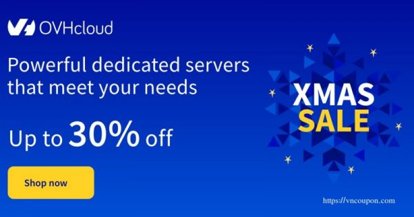 OVHcloud Xmas 2020 Deals have begun – Get up to 30% off Dedicated Servers