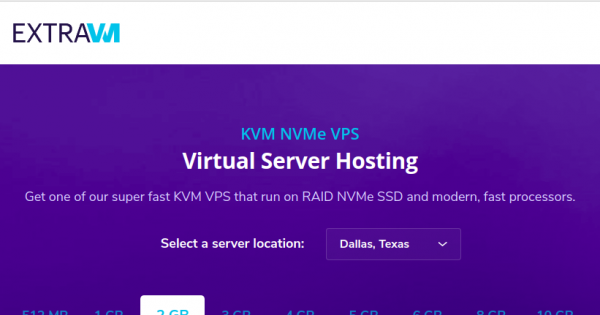ExtraVM – Special 16GB RAM KVM VPS only $16/month in France