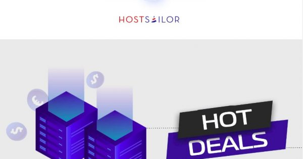 [Hot Deal] HostSailor – SSD Shared Hosting only $23.99/Year – Free .COM Domain