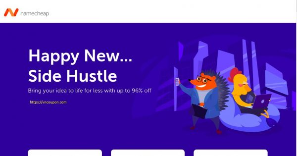 [New Year Sale] Namecheap – Up to 96% off Domain, Hosting, Web Security