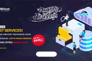 [Holiday Deals] OBHost – 50% off VPS, 40% Off Shared Hosting