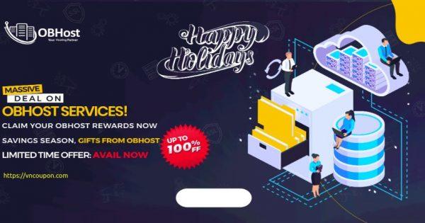 [Holiday Deals] OBHost – 50% off VPS, 40% Off Shared Hosting