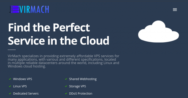 VirMach – Special NVMe Ryzen VPS from $38/2Year – 1TB HDD Storage VPS from $80/2Year
