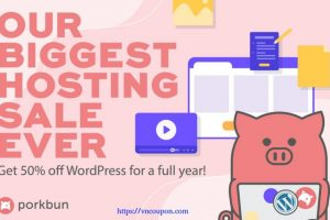 [Flash Sale] Porkbun – 50% off WordPress Hosting for first year! Try it 15 days