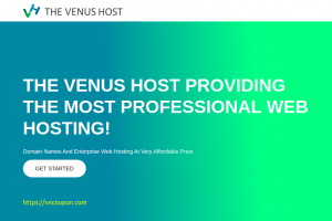 The Venus Host – Special Web Hosting for Valentine's Day 2021