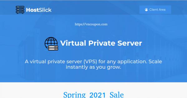 [Spring sale] HostSlick – up to 45% OFF on all VPS