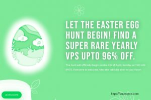[Easter Egg Hunt 2021] CloudCone Rare VPS offers up to 96% off