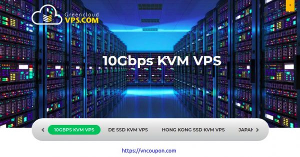 GreenCloudVPS – 10Gbps KVM VPS from $45/year in Amsterdam, Netherlands – Limited Time Offers