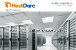 HostDare Promotional KVM VPS offers – CN2 GT and China Unicom QKVM plans from $25.99 USD/Year