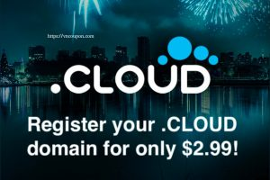 Namesilo Promotions And Coupon Codes on April 2021 – Register your new standard .CLOUD domains for only $2.99 for the first year