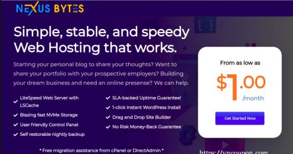 Nexus Bytes Expand to Miami – 20% Off Web & Reseller Hosting Plans