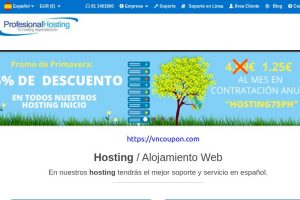 [Spring Sale] ProfesionalHosting – Up to 75% Off Shared & VPS Hosting