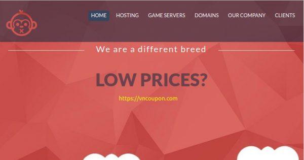 Chimpanzee Host – Custom Cloud VPS with AMD EPYC CPUs, Unmetered Bandwidth, EU Servers, Bitcoin Payment