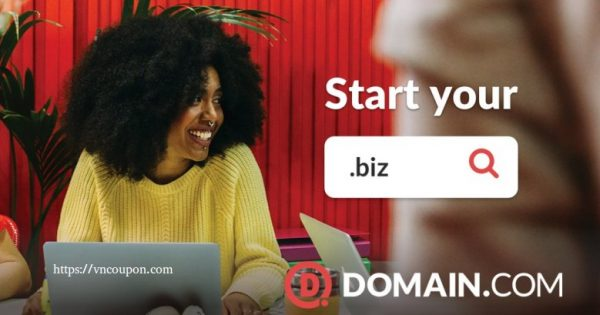 Domain.com Coupon on August 2021 – Only $7.49/Year .COM & $9.74 .NET & $4.99 .BIZ Domain Registration