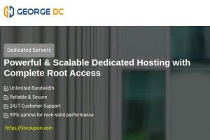 George Datacenter Special Dedicated Servers Offers from $39/month