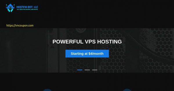 Hosting Bot – 15% off Ryzen NVMe VPS Hosting in Dallas, Los Angeles & Jacksonville
