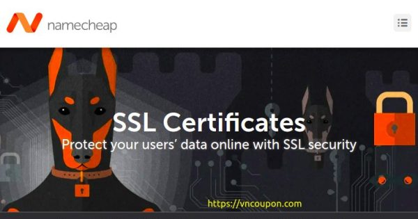 Namecheap – Save up to 46% on SSL Certificates from $4.88/year