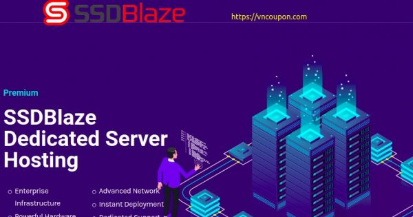 SSDBlaze – Dallas E3 Dedicated Server Offers with $5/month off Recurring Discount