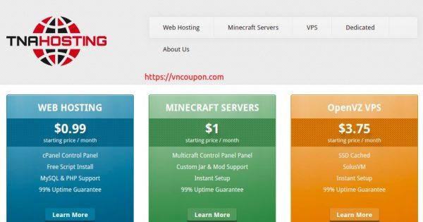 TNAHosting – 12GB RAM OpenVZ & 4GB RAM KVM VPS Offers only $5/month