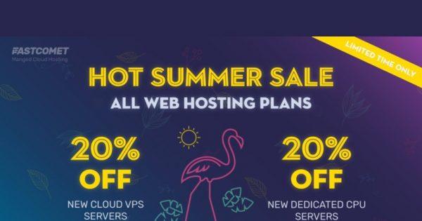 [Summer Sale] FastComet – 70% OFF New Shared Hosting