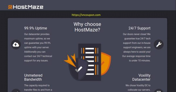 HostMaze – 19% OFF for any new services
