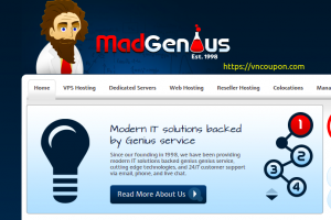 MadGenius – 50% Off KVM VPS Offers from $59.40/year