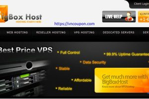 BigBoxHost – OpenVZ VPS from $15/Year – KVM VPS from $4.50/month – Get at more discounted price on annual signups