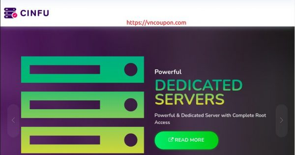 CINFU – 50% discount for new customers on All VPS Hosting in Bulgaria, France, Germany, Netherlands and in USA.