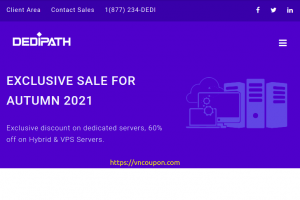 [Fall Sale] DediPath – 60% Off SSD OpenVZ and KVM VPS – Dedicated Servers From $39/month – 7 Locations