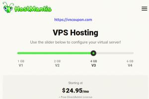 HostMantis – 25% off Recurring on NVMe SSD VPS Hosting + Free DirectAdmin License