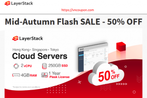 LayerStack Mid-Autumn Flash Sale – 50% Off Cloud Servers in Hong Kong, Tokyo & Singapore