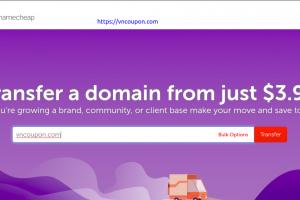 Namecheap Transfer Week Sale – Transfer a domain from just $3.98