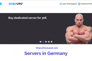 RoboVPS – Special Dedicated Server only €30/month, 16GB RAM, 2 x 1 Tb STORAGE, Instant activation