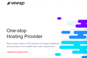 Veesp – Cheapest Offshore VPS from $3/month + 5% OFF Discount Code