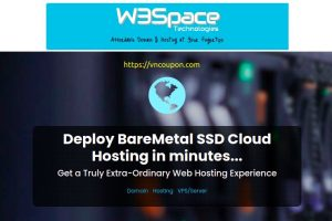 W3Space – 50% Off Fully Offshore VPS only $8.48/month, KVM SSD VPS from $15/Year