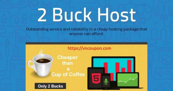 2 Buck Host – $2/month Web Hosting Offers – Free .com Domain
