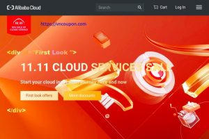 Alibaba Cloud – 11.11 Cloud Services Sale with $1