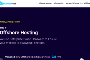 BlueAngelHost – Offshore VPS Promo from $9.99/month – 10% Off Managed Offshore VPS