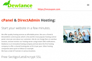 Dewlance – Cheap UK Hosting from $2/Year & Reseller Hosting from $2/month – SSD + Instant Setup