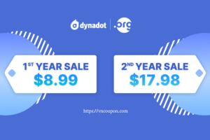 Get a .ORG domain for only $8.99 from Dynadot!