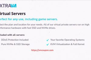 ExtraVM – Special VDS Offers in Dallas, Texas – 16GB RAM, 2x i9-9900K Cores, 100GB NVMe only $16/month