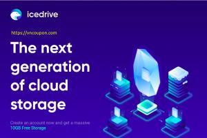 Icedrive – $99 Lifetime Cloud Storage promotion